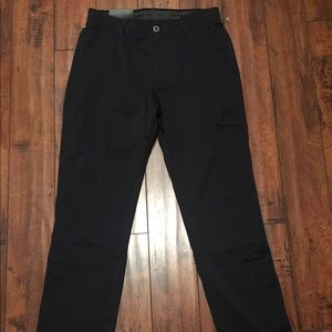 Under Armour Golf Pants Black Straight Leg 32/34